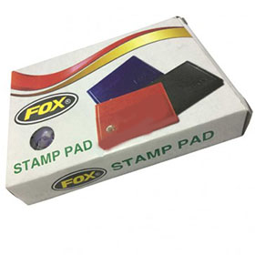 Fox Stamp Pad