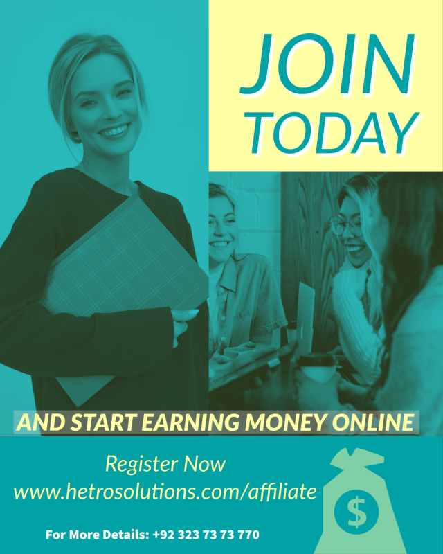 hetro solutions affiliate program in pakistan earn online money from home without investment