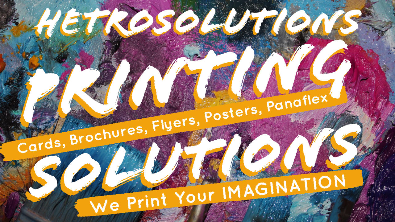 Hetro Solutions Printing Solutions in Pakistan ans world wide www.hetrosolutions.com